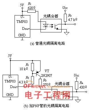 远程测温电路图