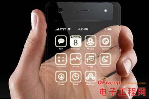 透明智能手机