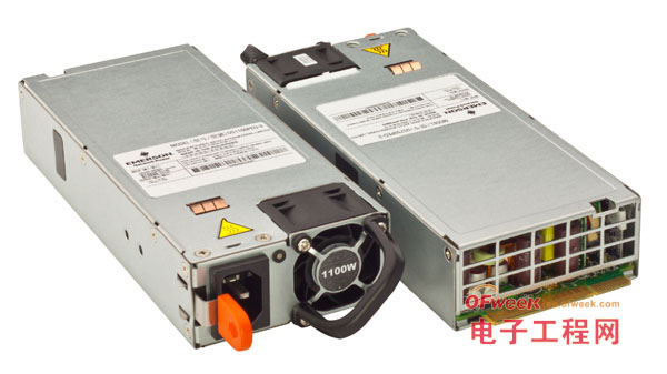 艾默生网络能源的超小型特大功率前端电源符合80 Plus Platinum标准的效率要求