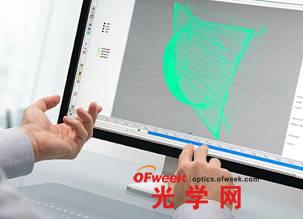 手势检测是 SFH 4716S 的可行应用领域之一:无需触摸键盘即可进行文本输入或图像处理