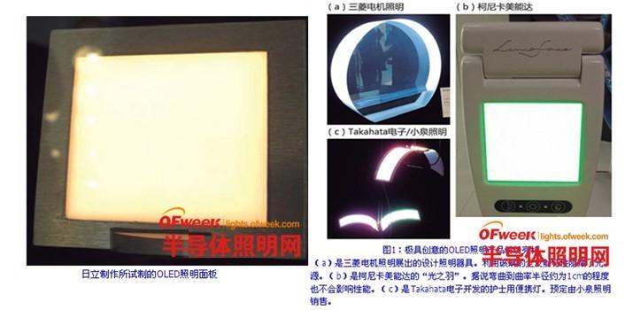 OLED照明新技术层出不穷 光源可换式灯具登场