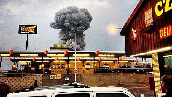美国化肥厂爆炸