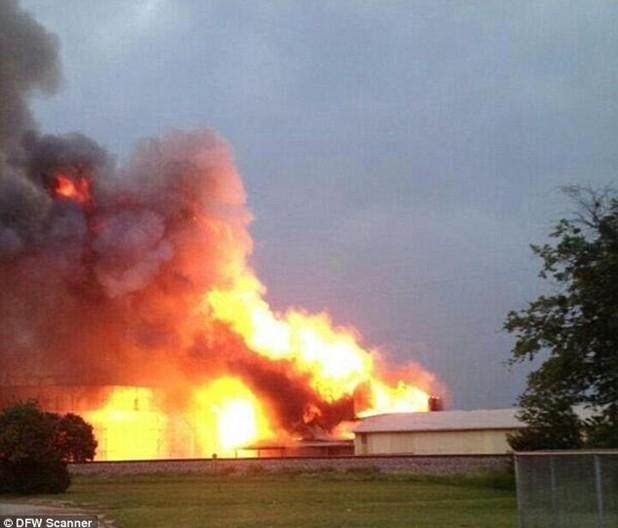 美国化肥厂爆炸事件