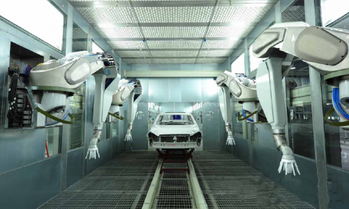 汽车制造自动化