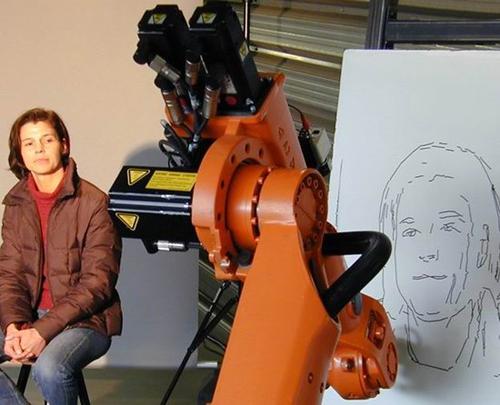 绘画机器人