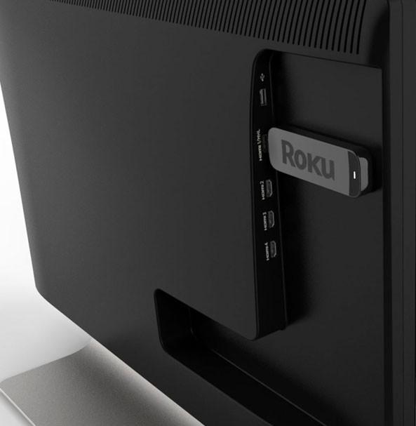 Roku推出U盘大小的超便携机顶盒新品