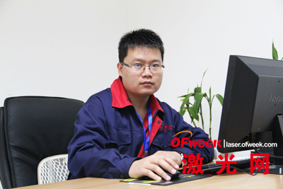 北京陆合飞虹激光科技有限公司副总经理苏国强