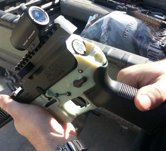3D打印武器