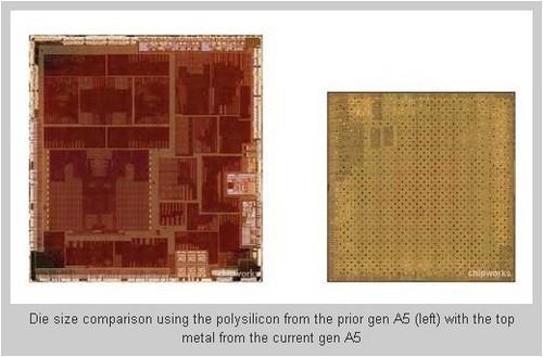新老A5双核处理器对比图