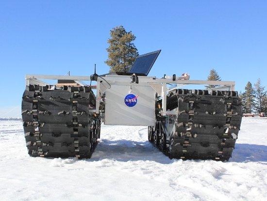 冰川机器人