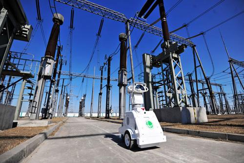机器人值守500千伏变电站