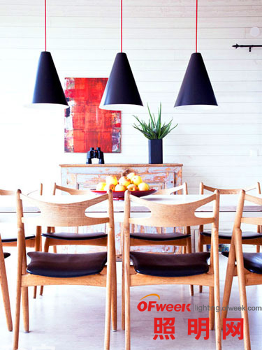 【餐厅照明】提案 18款吊灯点亮光影元素(图)