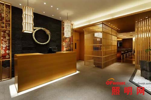 北京日式连锁餐厅照明设计(组图)
