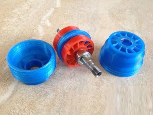 3D打印涡轮气动磨机