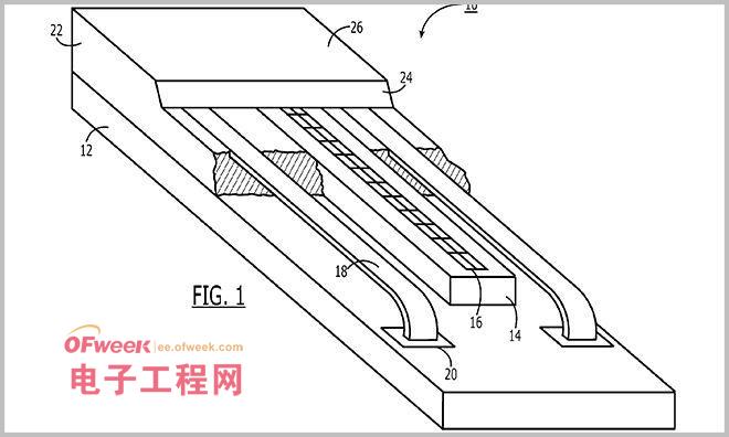 """苹果该专利名称为""""指纹感应器等内部冲模及凹形底座结构&"""