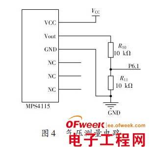 单片机压力传感器接线图