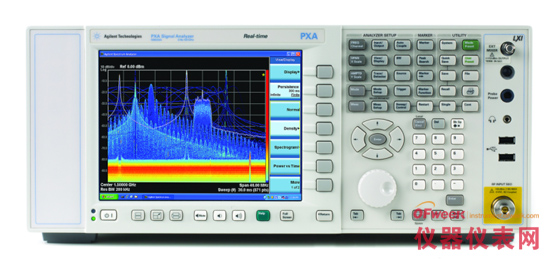 安捷伦高性能PXA信号分析仪新增实时频谱分析功能