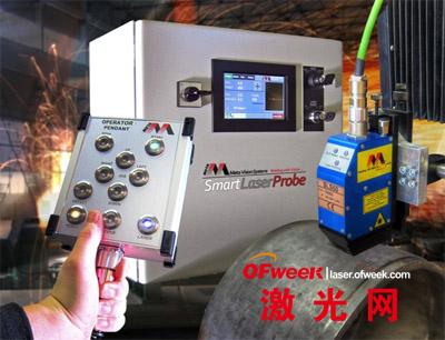 新型激光焊缝跟踪系统Smart Laser Probe (SLPr)