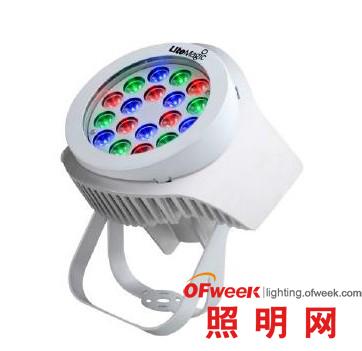 磊明推出LM413 36W大功率RGB全彩投光灯Burst-A RGB 36