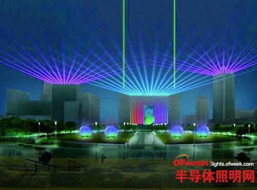流光溢彩 国际低碳灯光节于南京举办