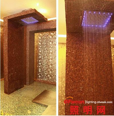 低碳打造炫丽:水力发电LED顶喷