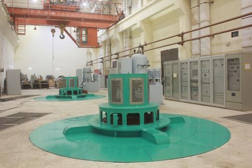三峡水电站变压器接线图