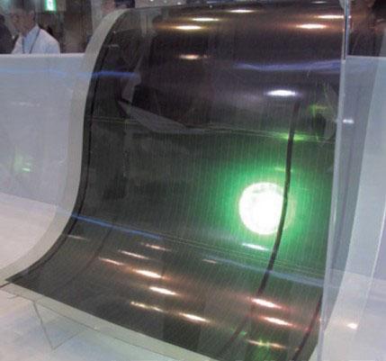 大型太阳能电池薄膜