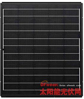 东芝推出单晶硅太阳能光伏瓦