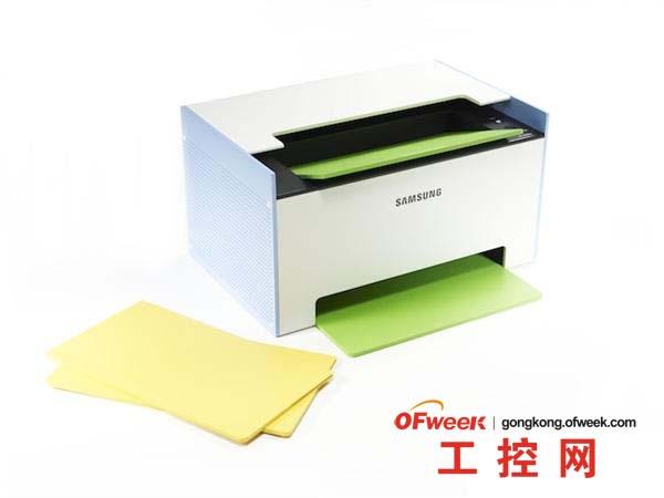 3D弱爆了 三星展示纸质打印机