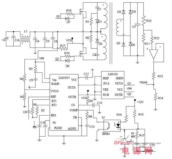 lm25037车载逆变器设计方案