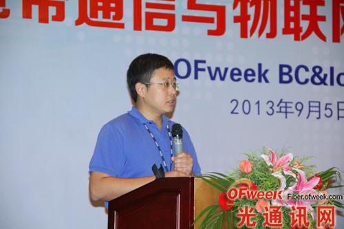 中兴通讯光传输产品规划总工、标准总监王加莹:《软件定义的OTN网络》