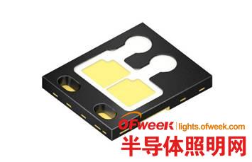 车用紧凑型双芯片版本欧司朗Black Flat LED亮度更高