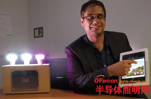 飞利浦在日本发售1677万色发光的LED智能灯泡HUE