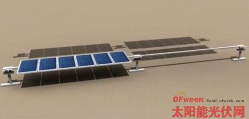 Vader-xFP太阳能跟踪系统启用无摩擦、无轴承技术