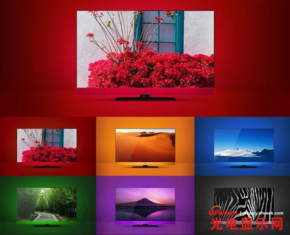 小米电视多种颜色