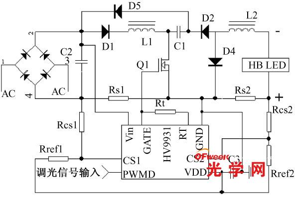 LED路灯驱动及智能调光系统设计