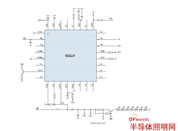 艾默生推出单/双通道PWM恒流模式LED驱动方案