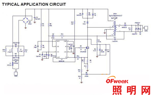 推荐9:MP4021原边控制隔离驱动IC