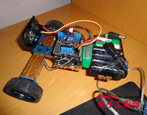 arduino作为下位机