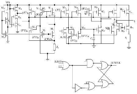 图3辅助振荡器电路