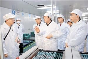 国务院副总理马凯深圳调研 考察新能源汽车