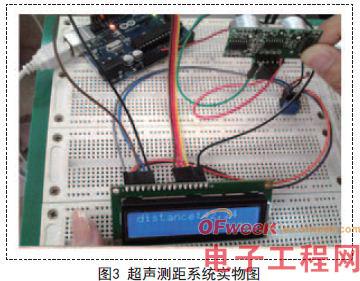 1602液晶与arduino板连接图如图2所示