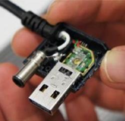 光纤缆线助阵 Thunderbolt传输效能跃进