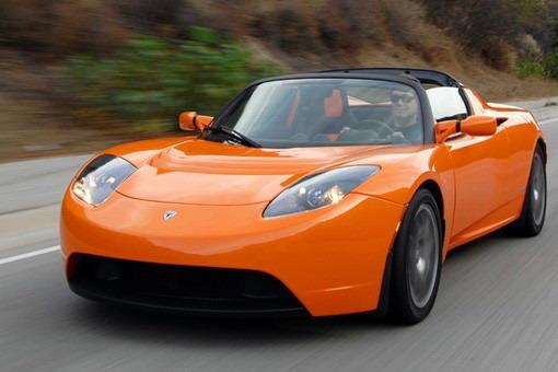 特斯拉Roadster电动跑车