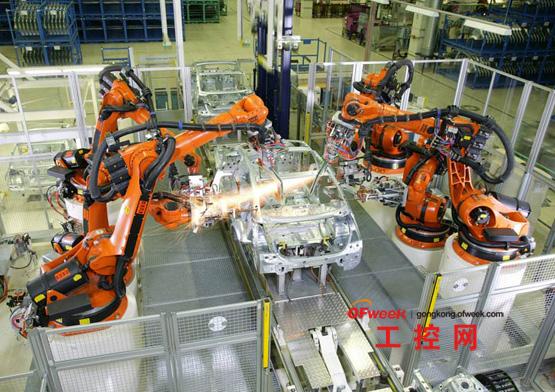 机器人自动化生产