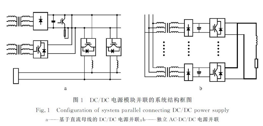 基于IGBT器件的大功率DC/DC电源并联技术研究