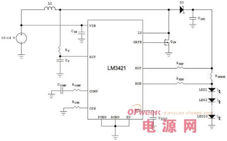汽车电子应用中的LED驱动方案设计参考