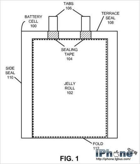 新专利显示苹果或有意开发不同厚度的电池