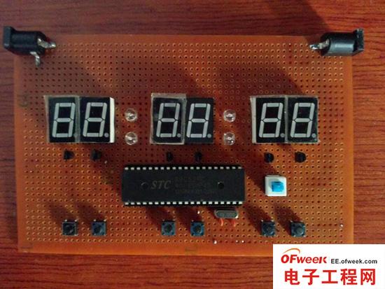 diy:纯手工制作六位数码管时钟(图文)