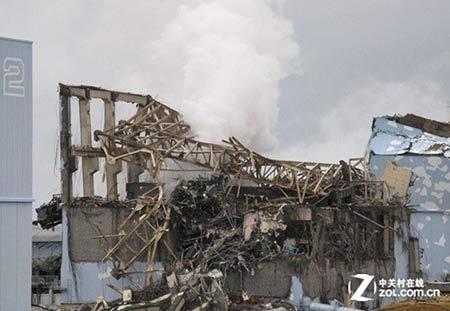 福岛核电站3号反应堆在海啸后被毁,这主要是最初在设计时没有考虑